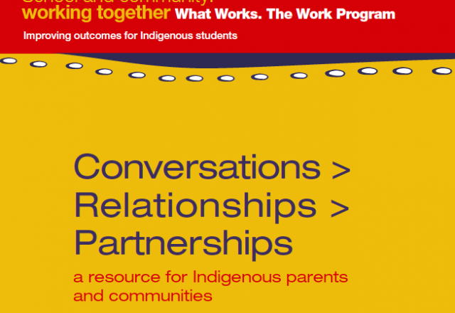 Improving outcomes for indigenous students